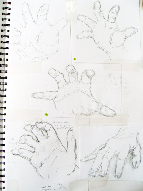 Rob Gill hands