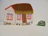 AccessArt Village House donated by a student of Eureka Primary Grade Eight, Burgersdorp, South Africa (large house)