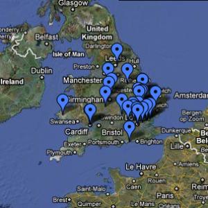 AccessArt Studio Project Map