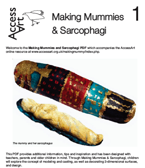 How to Make a Mummy and Sarcophagi PDF