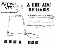 "Familiarise pupils with simple tools and how to use them  [themify_button style=""xlarge block"" link=""https://www.accessart.org.uk/the-abc-of-tools-pdf-download/"" color=""#d1cf30"" text=""#000000""]Download the PDF![/themify_button]"