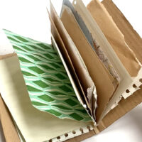 An elastic band sketchbook