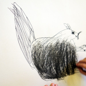 Drawing cartoon animals