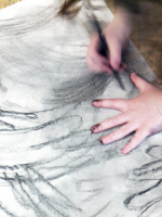 Inset: creative drawing workshops