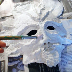 Making a Sculptural Mask