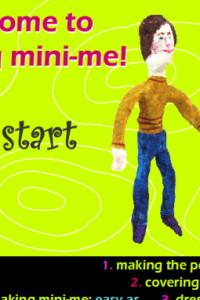 Making Mini Me Sculpture Workshop for Children