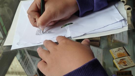 Sketchbooks in Primary Schools