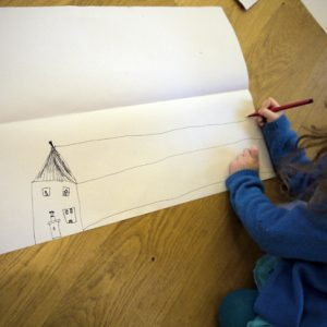 "I wanted to introduce children (aged 6 to 10) to the basics of perspective in relation to drawing architecture and so devised this simple perspective art lesson. I wanted to balance the technical aspect (which can be tricky at this age) with some time spent in making sure the children felt like they owned their drawings (which in this case meant adding lots of detail and often the beginning of a narrative). Their sense of place in these drawings was very strong, not just in their attempt to portray buildings which looked like they might exist in the real, object based world [themify_button style=""xlarge block"" link=""https://www.accessart.org.uk/simple-perspective-for-children-an-introduction/"" color=""#78608e"" text=""#ffffff""]Read More[/themify_button]"