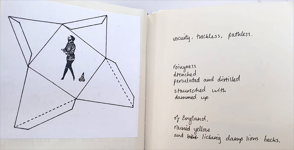 activities that take place in sketchbooks: notetaking