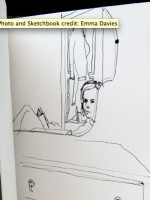 Emma Davies – an Artists' Sketchbook