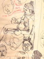 Jo Blaker ice breaker sketchbook exercise