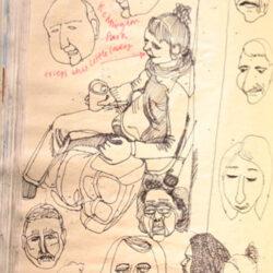 Jo Blaker shares a sketchbook warm up