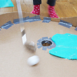 Series of resources to describe a project for pupils in which they design a game which others can play. Construction based mixed media project, encourages children to work on a larger scale, explore testing their design, and selling the idea to others.