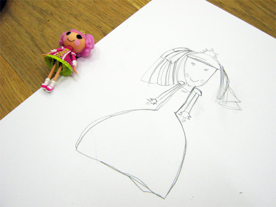 Sketch of a Doll