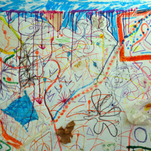 Large Scale Drawing: A Visual Conversation