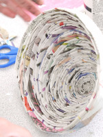 Making Paper Bowls with Lisa Smith