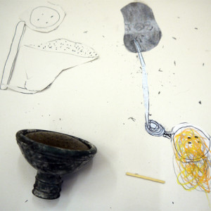 An exciting resource based on Da Vinci's notebook drawings.  Simple household objects are used to inspire inventions, which are recorded on a selection of papers through drawing, mono printing with carbon paper and collage.  This activity enables children to explore 'thinking through drawing', making connections between hand, eye, hand and brain.
