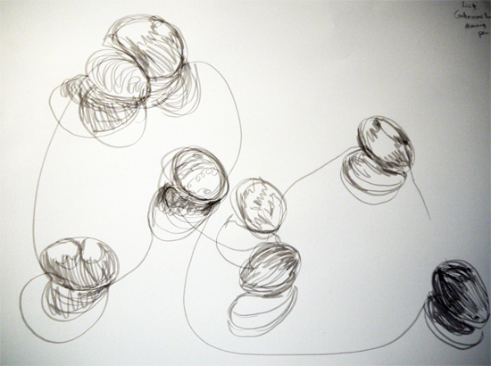 Eggs Drawn with a Pen