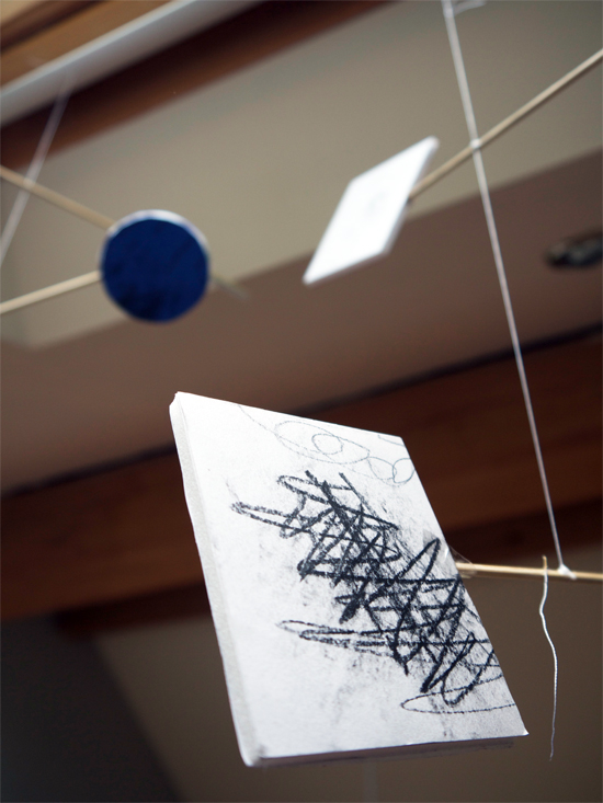 A fun project making mobiles based on the Calder-inspired workshops facilitated by Design