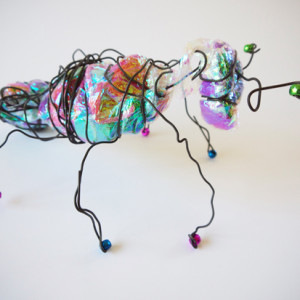 Making wire insects