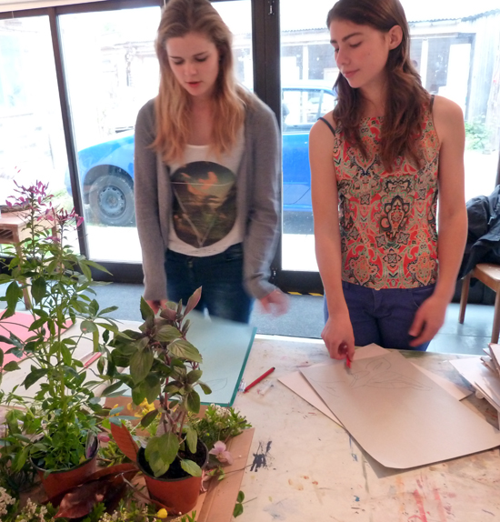 Jasmine and Sara Introduce 'How to Make a Stencil'