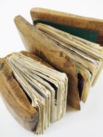 Wooden sketchbooks
