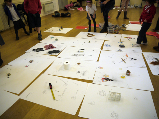 Drawing Together, Working on Shared Drawings: Drawing with Children on Shared Pages...