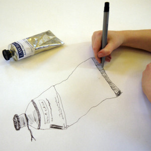 Observational drawings drawn on cummunal sheets. What can we learn from each other?