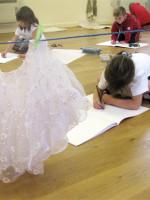 Dressing up skirt