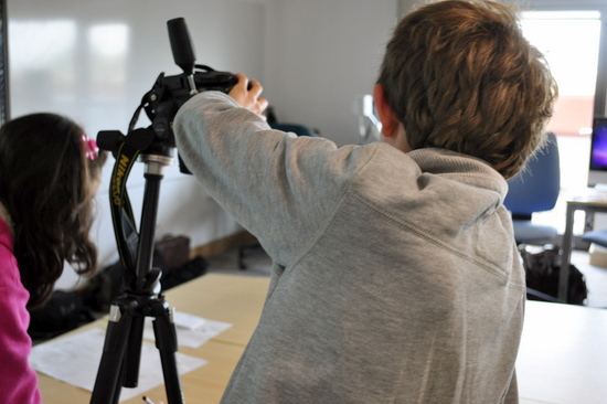Drawings which move: using digita SLR camera to shoot the animation