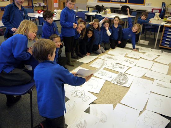Session round-up - discussing our drawings