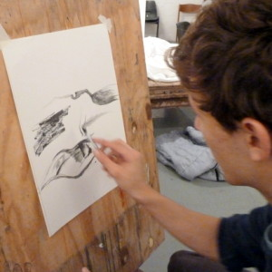 A drawing resource that helps students explore how water soluble graphite can be used to create tonal contrast and portray soft texture, shape and form.