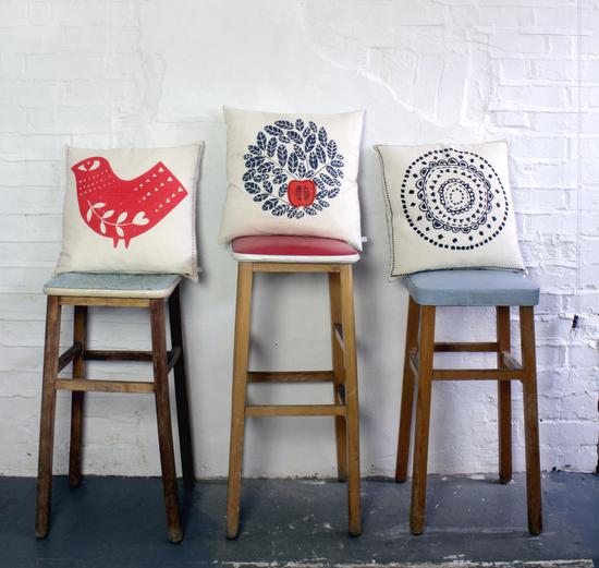 Easy lino printing: Zeena Shah's studio