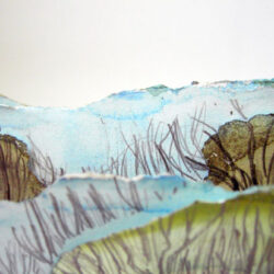 A sketchbook created in response to landscape