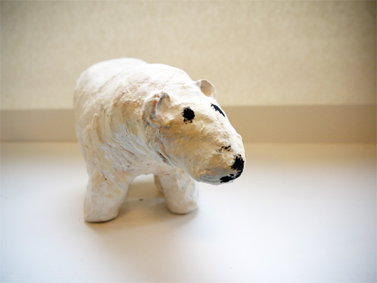 After school art club: Finished bear