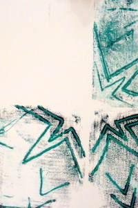 Mono printing - By Nina