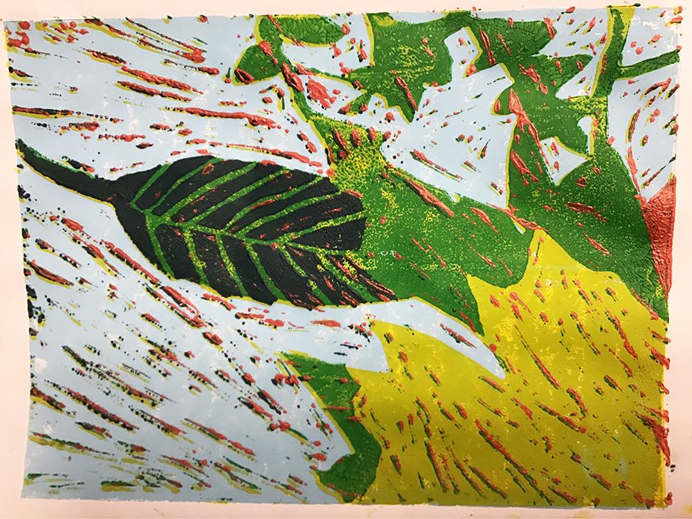 Emily's Final Five Colour Print by Joy Johnston