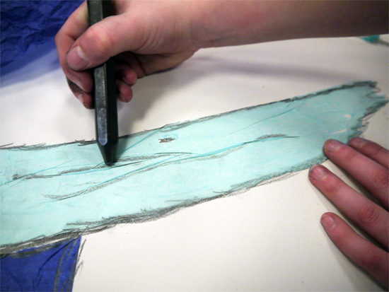 how to make graphite paper