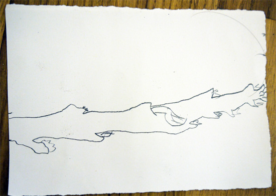 A quick 5minute drawing exercise to encourage children to work large and make their drawing fill the page.