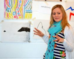 In September 2017 we were joined by free-lance artist Rachel Thompson to administer AccessArt's Brilliant Makers and help build the AccessArt community both locally in Cambridge and online.