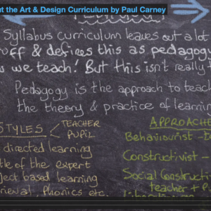 Thoughts on the Curriculum by Paul Carney