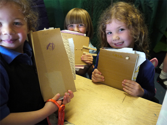 Reception sketchbooks