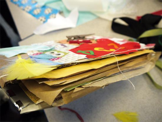 Art week at primary school: personalising covers to encourage ownership