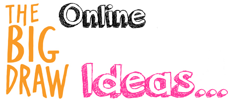Big Draw Online with accessArt - Ideas...