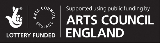 Funded by The Arts Council of England