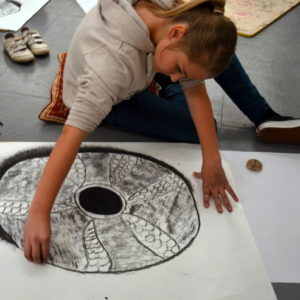 Drawing shells on a large scale