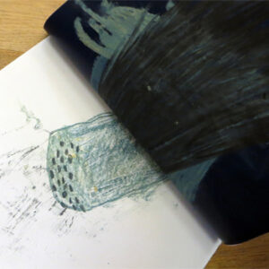 MonoPrinting with Carbon Paper