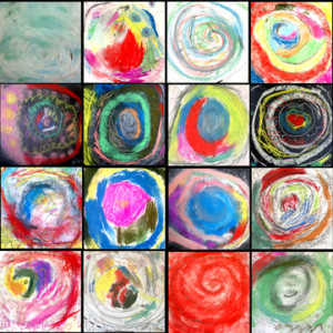 Drawing Spiral Snails by Tracy McGuinness-Kelly
