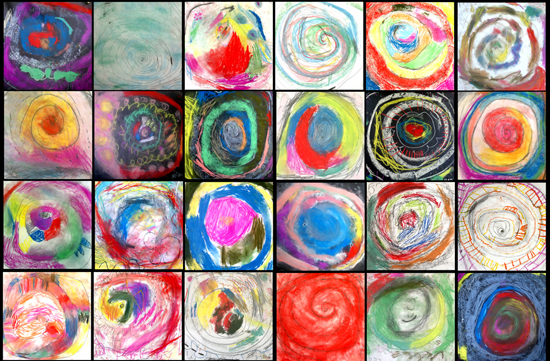 Drawing spirals: Drawing Spiral Snails by Tracy McGuinness-Kelly