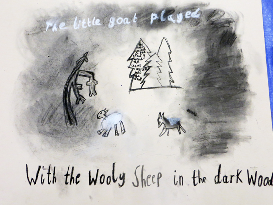Drawing Stories: Illustrations by Children